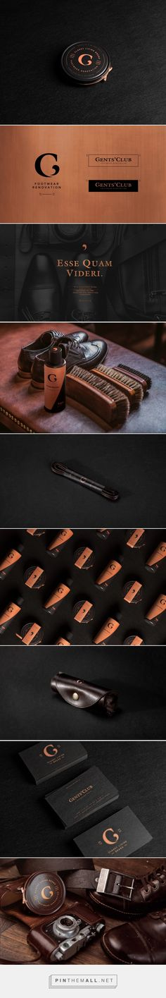 Gents' Club - Packaging of the World - Creative Package Design Gallery - http://www.packagingoftheworld.com/2016/11/linger-wine-co-student-project.html