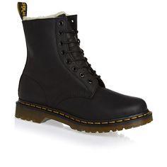 Dr Martens Boots - Dr Martens Serena Boots - Black