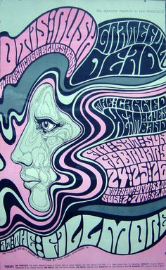 Psychedelic Disaster: Arte Psicodelica: Wes Wilson