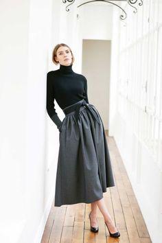 All the runway looks from Martin Grant: Paris Ready-to-Wear Pre-fall 2015 #Minimalist #Minimalism #Fashion