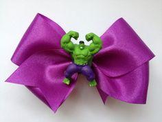 The Hulk hair bow on etsy $7