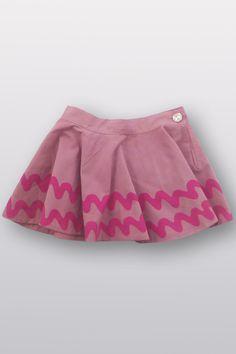 alpine skirt: hand-printed, woven play