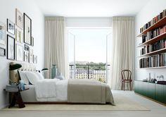 Cok sakin renkler yatak odasi