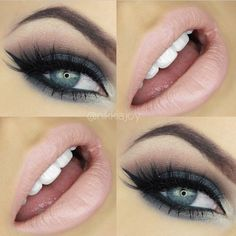 I was feeling smokey autumn greens today - even though it's summer here Flawless Makeup, Gorgeous Makeup, Love Makeup, Makeup Tips, Beauty Makeup, Makeup Looks, Hair Makeup, Makeup Ideas, Beauty Tips