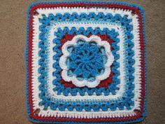 """Ravelry: Hermit 9"""" and 12"""" Afghan Block pattern by Margaret MacInnis"""