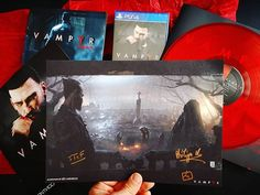 Superbe Press Kit numéroté pour la sortie de #Vampyr sur PS4 Xbox One et PC le 5 juin ! ------ #videogames #gamecollection #ps4 #xboxone #gaming #gaminglife #playstation #jeuxvideo #presskit #collector #instadaily #instagaming #instagamer #gamer #igersfrance #red #blood #vampire #vinyl