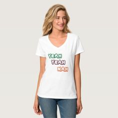 Yeah Yeah Nah Women's Light Funny T-Shirt