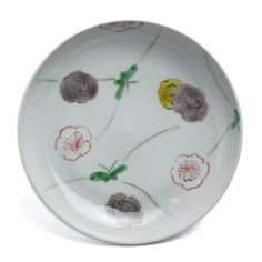 色絵花散らし文皿・正木春蔵 Japanese Plates, Japanese Pottery, Japanese Style, Dish, Traditional, Cooking, Tableware, Modern, Beautiful