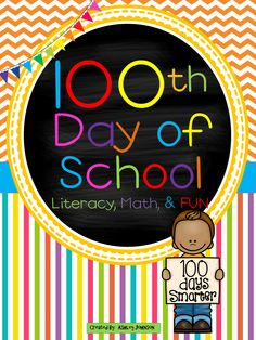 This 100th day unit is filled with awesome activities you can do on the 100th day of school! Your students will be counting to 100 in a variety of FUN filled ways. Students will be able to reflect on their past 100 days. $