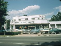 Dodge-Plymouth Dealership 1957 | Flickr - Photo Sharing!