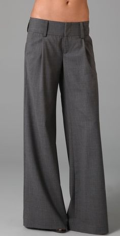 wide leg pants.  pretty sure I have a pair of these under all my skinny jeans.