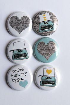 Typewriter Flair by kidsmom1999 on Etsy, $6.00