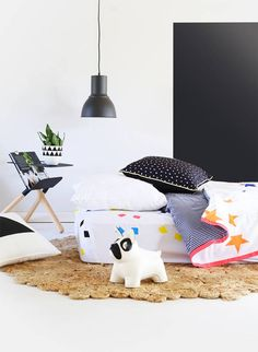 Bushel & a Peck Kid Beds, Color Splash, Neon, Child, Orange, Cover, Baby, Stuff To Buy, Design