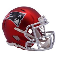 Riddell New England Patriots Blaze Revolution Speed Mini Football Helmet