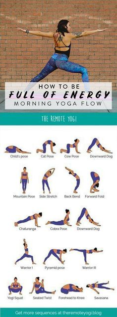 yoga yoga,Yoga, flow e reflexões This printable yoga sequence is even better than coffee to get you awake and moving each day. Try out the class for free! yoga poses workout beginner fitness beginner inspiration poses for beginners Vinyasa Yoga, Ashtanga Yoga, Vinyasa Flow Sequence, Yin Yoga, Yoga Meditation, Morning Yoga Flow, Morning Yoga Routine, Morning Morning, Bedtime Routine