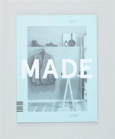 MADE Quarterly image  #design