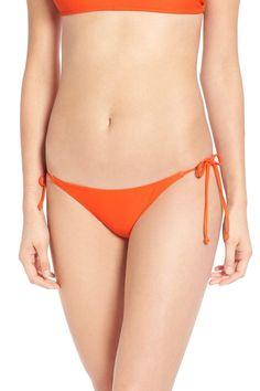 Simply Solid Side Tie Bikini Bottom