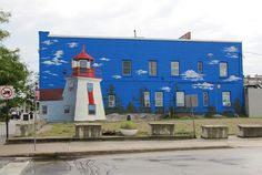 YOU 'GOTTA LOVE THE MURALS Mural, Downtown Midland, Ontario, Canada