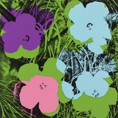 Andy Warhol. Untitled from Flowers. (1970)