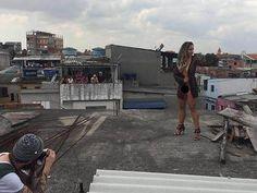 'Sou Baile de Favela! Acho que a comunidade tem tudo a ver comigo', disse a funkeira Renata Frisson, que será capa da revista 'Sexy' de junho.