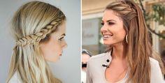 Nati Vozza do Blog de Moda Glam4You dá dicas de penteados para o dia a dia.