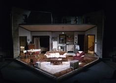 A Raisin in the Sun. Milwaukee Repertory Theatre. Scenic design by Jack Magaw.