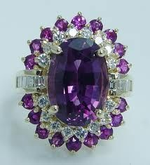 Amethyst and Diamond Cocktail Ring Purple Love, All Things Purple, Shades Of Purple, Deep Purple, Purple Sparkle, Purple Stuff, Amethyst And Diamond Ring, Amethyst Jewelry, Purple Diamond