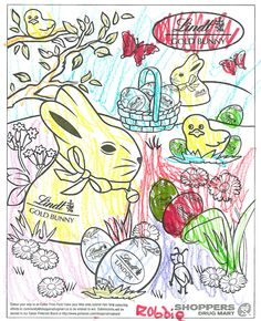 Robbie's colouring contest entry