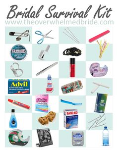 What To Put In A Wedding Day Emergency Kit