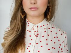 scalloped collar AND polka dot: absolute fave!