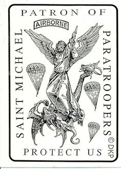 st michael the archangel Patron saint of paratroopers - Google Search