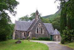Aberfoyle Scotland | The church: Aberfoyle Parish, Aberfoyle, Scotland.