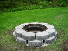 fire pit made from truck rim
