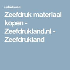 Zeefdruk materiaal kopen - Zeefdrukland.nl - Zeefdrukland