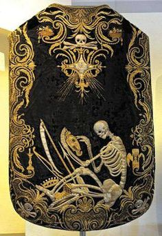 Funeral Chasuble. Stunning.
