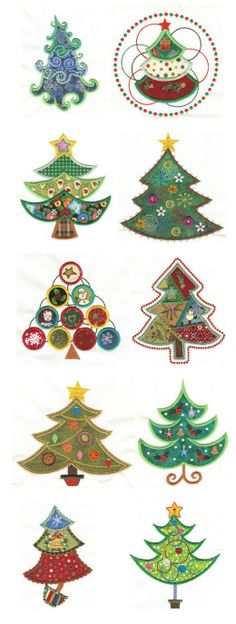 Embroidery | Free Machine Embroidery Designs | O Christmas Tree Applique