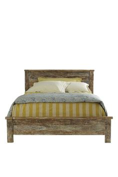 Kosas Home Harbor Bed Harbor Bed: Rectangular bed Reclaimed wood frame Measurements: California king W x D x H Material: Reclaimed wood Care: Wipe with a damp cloth Brand: Kosas Home Origin: Imported Bedroom Furniture, Home Furniture, King Furniture, Vintage Furniture, Bedroom Interiors, Furniture Shopping, Farmhouse Furniture, Reclaimed Wood Beds, Teak Wood