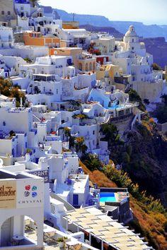 Fira, Santorini, Greece. Please somebody take me here!!