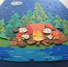 Pieces made for Disney's Wonderground on Behance