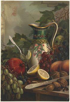 Wilkie, Robert D., ~ still life Caravaggio, Tableau Pop Art, Foto Transfer, Still Life Images, Robert D, Still Life Fruit, Fruit Painting, Painting Still Life, Art Moderne