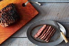 Miso Marinated Flat Iron Steak with Yuzu Kosho recipe on Food52