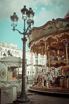 Colorfull Wallpaper, Carnival Rides, Fun Fair, Merry Go Round, Vintage Carnival, Carousel Horses, Brown Aesthetic, France, Beautiful Architecture