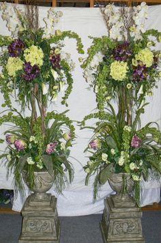 Wedding arbors arbors and vintage weddings on pinterest for Arbor decoration ideas