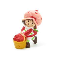 Strawberry Shortcake With A Bushel Basket by BrownEyedRoseVintage, $8.00