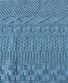 Ravelry: Mystery KAL pattern by Tina van den Berg Free Baby Blanket Patterns, Baby Knitting Patterns, Knitting Stitches, Baby Patterns, Stitch Patterns, Crochet Patterns, Knitting Needles, Knitted Afghans, Knitted Baby Blankets