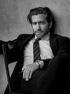 Numéro Homme Fall/Winter Cover Jake Gyllenhaal by Peter Lindbergh Peter Lindbergh, Jake Gyllenhaal, Album Cover, Foto Fashion, Men Photoshoot, Poses References, Image Fun, Portraits, Famous Photographers