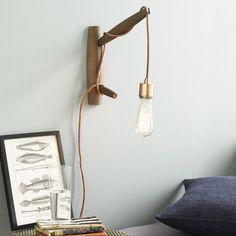 A Copper Pendant Sconce DIY