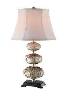 Bahamas Stacked Sea Urchin Accent Lamp by Stein World on @HauteLook