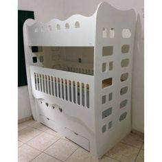 Foto 1 - Beliche/Berço com 2 gavetas com Escada