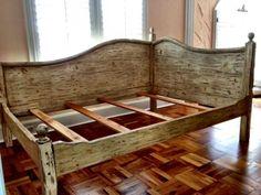 Corner Bed Headboard bedroom, diy corner wood bed frame with high headboard for queen
